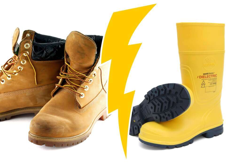 Dielectric Boots vs Normal Safety Boots